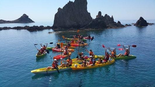 Kayak Cabo de Gata