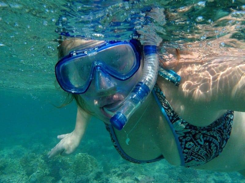 snorkel en almeria