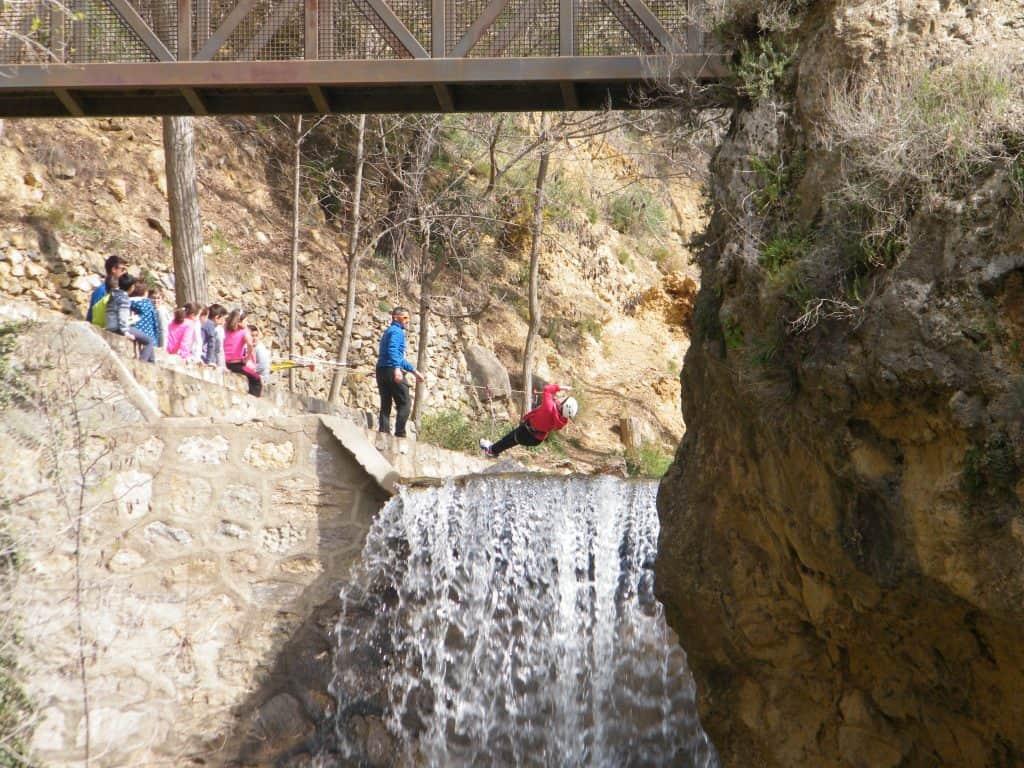 actividades extremas para niños en almeria