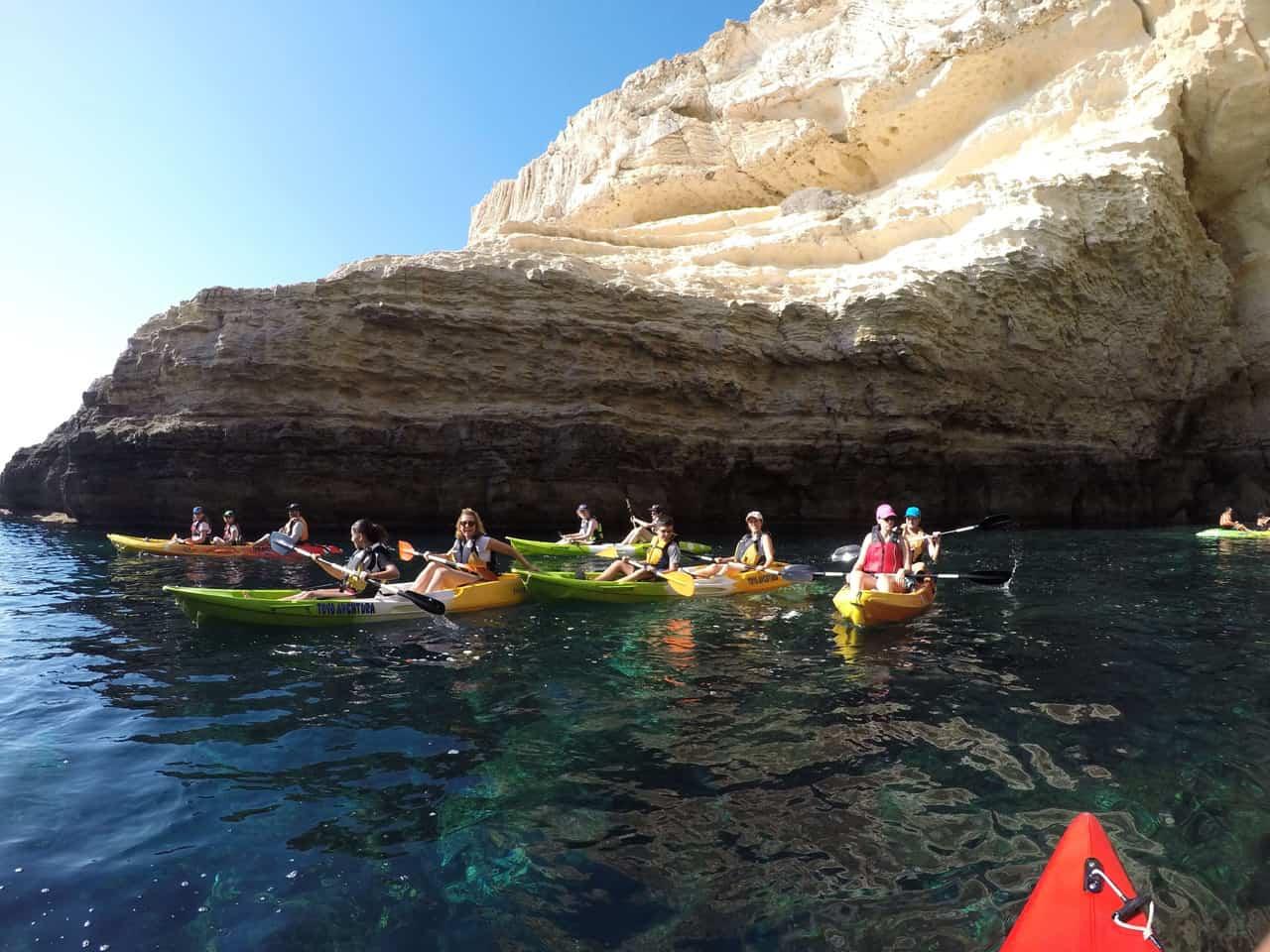kayak almeria