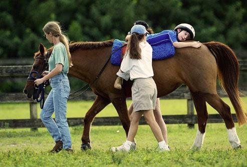 Terapias con caballos Equinoterapia