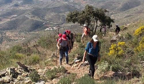 senderismo en almeria