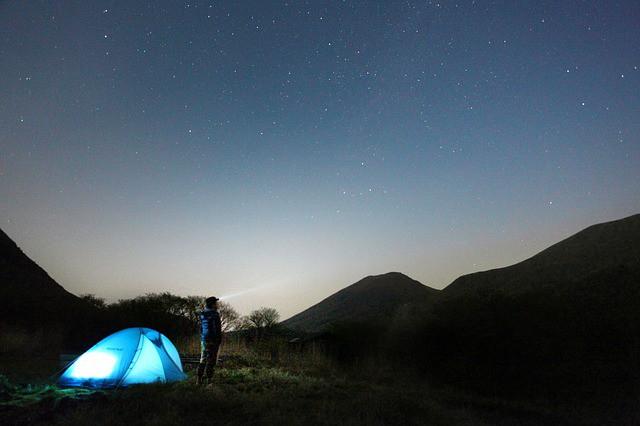Senderismo nocturno en Almería