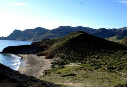 playas desconocidas en Cabo de Gata