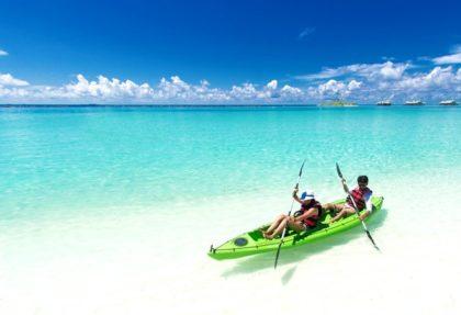 consejos para navegar en kayak doble